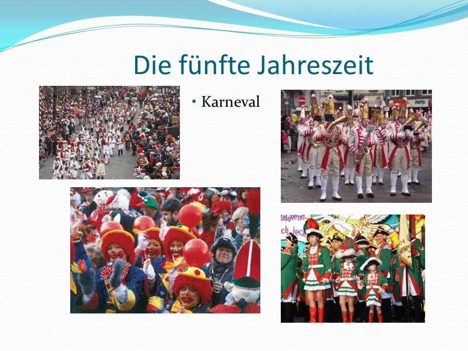 Die fünfte Jahreszeit Karneval