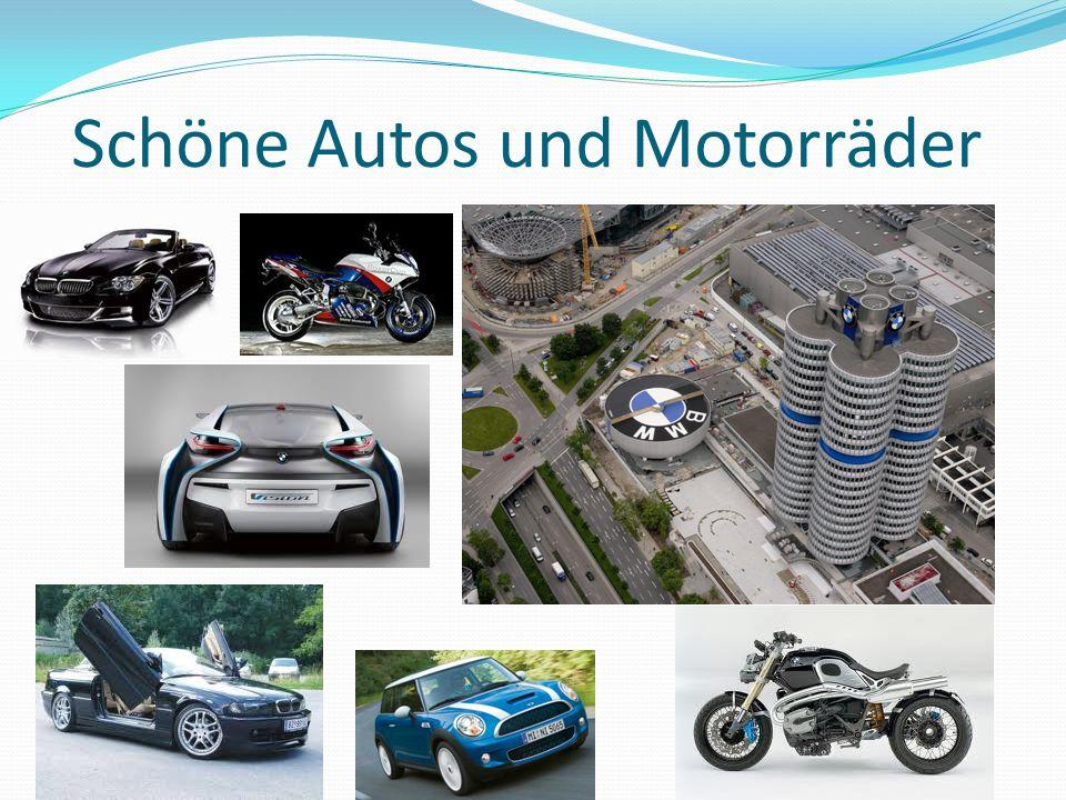 Schöne Autos und Motorräder
