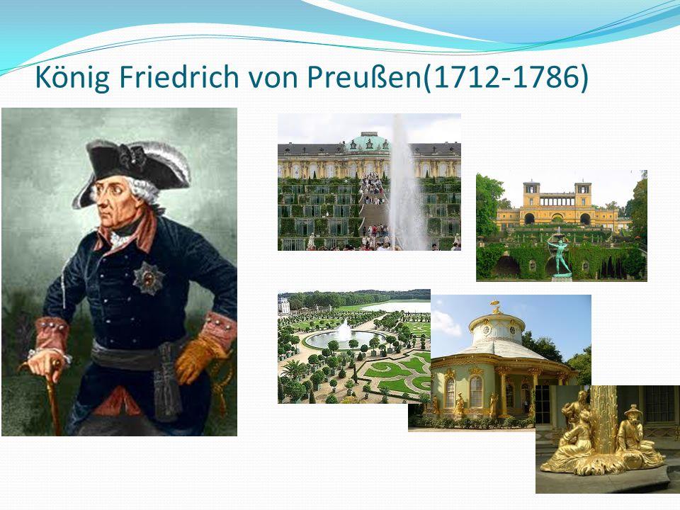 König Friedrich von Preußen(1712-1786)