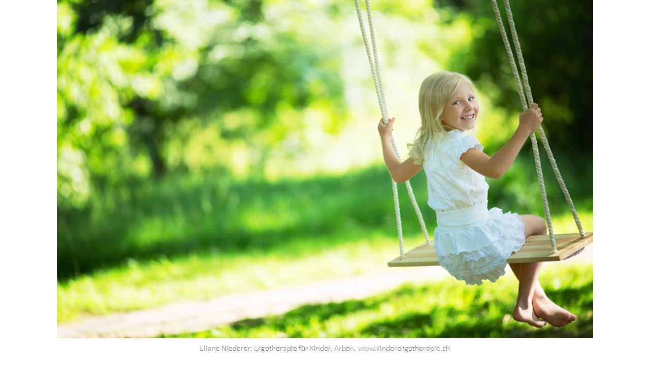 Selbsterfahrung Eliane Niederer, Ergotherapie für Kinder, Arbon, www.kinderergotherapie.ch