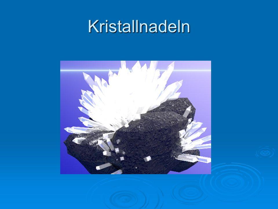 Kristallnadeln