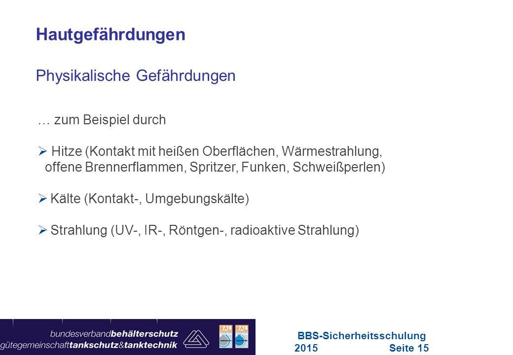 Maschinen in Europa Vorschriften-Übersicht für Maschinen … zum Beispiel durch  Hitze (Kontakt mit heißen Oberflächen, Wärmestrahlung, offene Brennerf