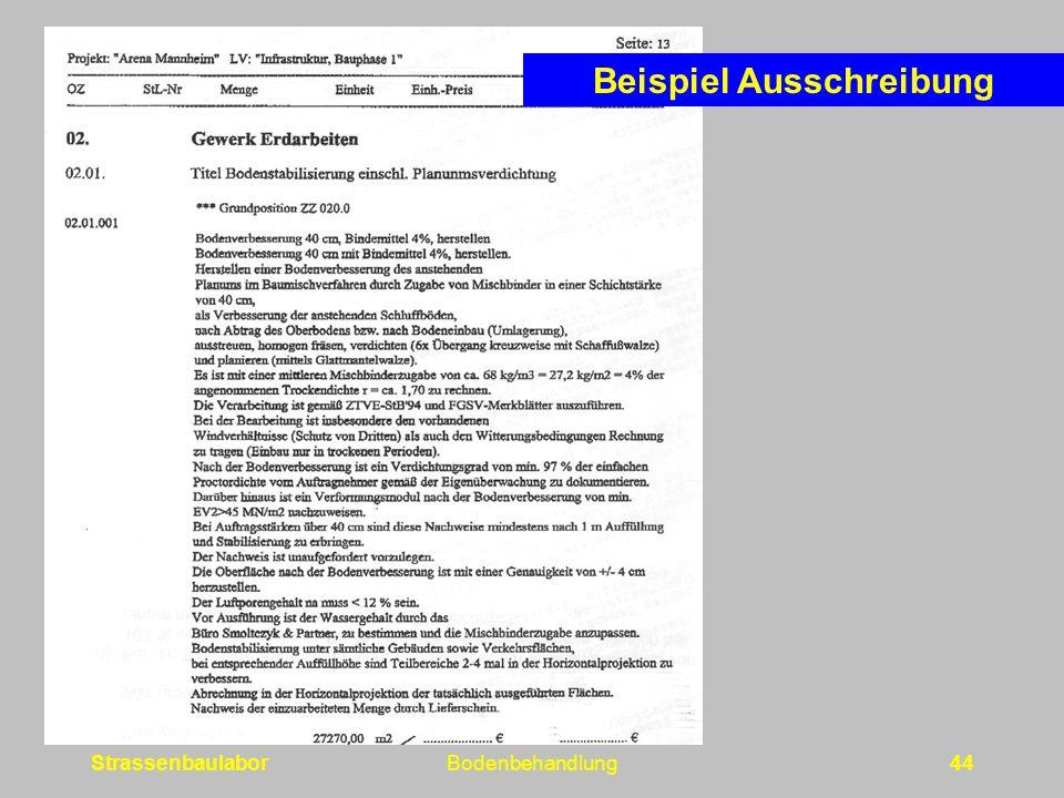 StrassenbaulaborBodenbehandlung44 Beispiel Ausschreibung