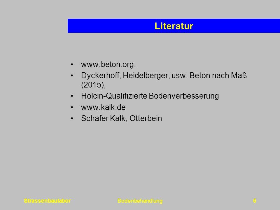www.beton.org. Dyckerhoff, Heidelberger, usw.