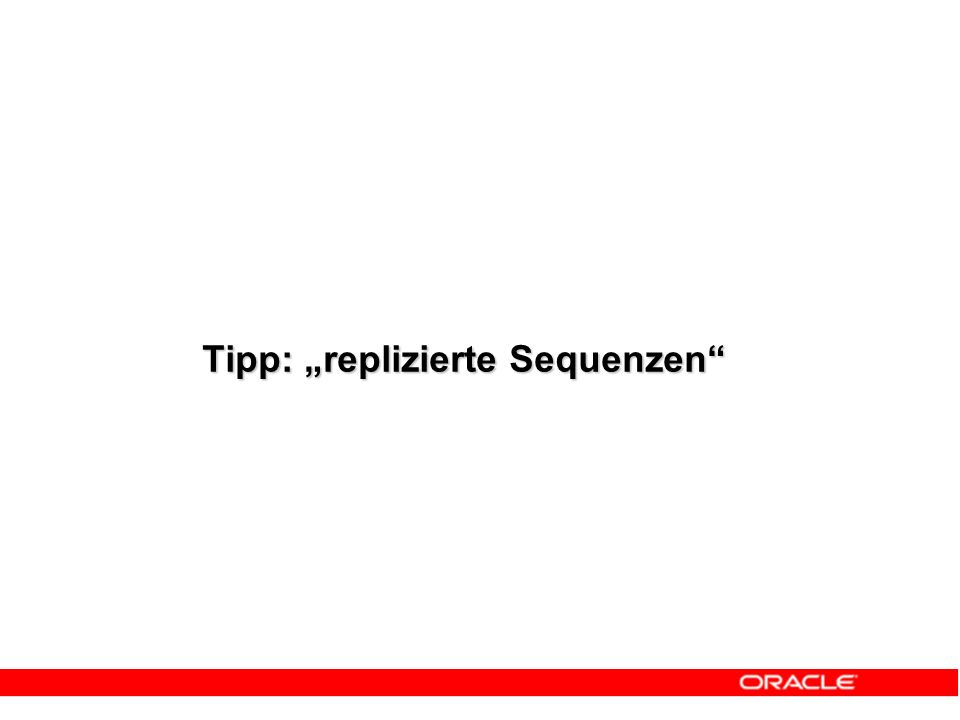 """Tipp: """"replizierte Sequenzen"""