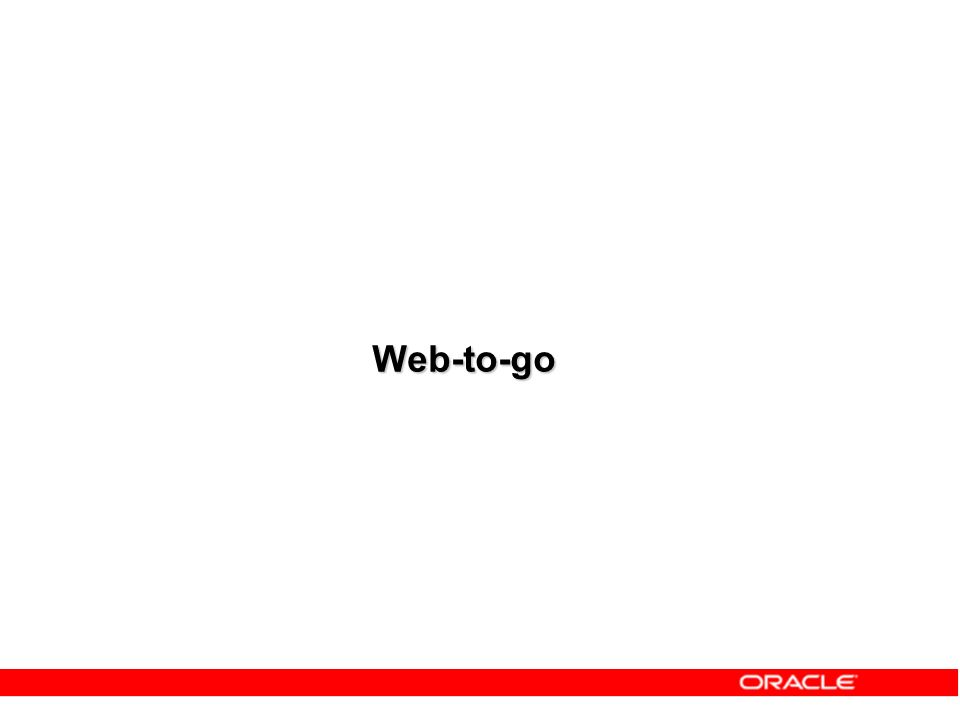 Web-to-go