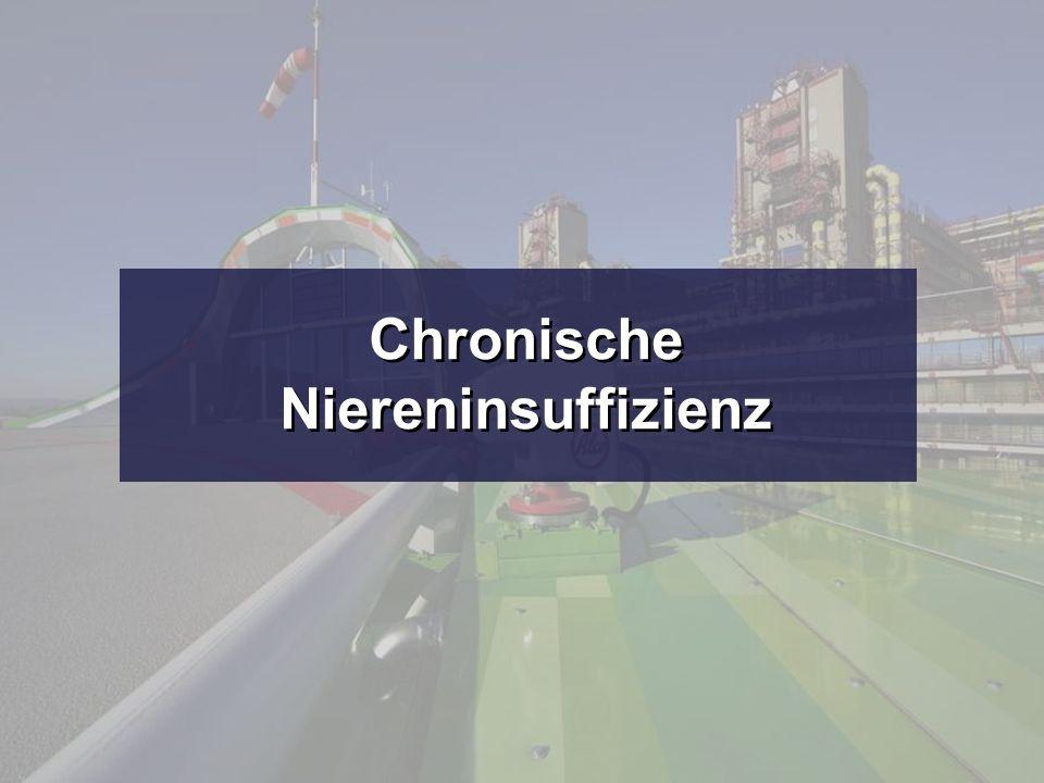 Chronische Niereninsuffizienz