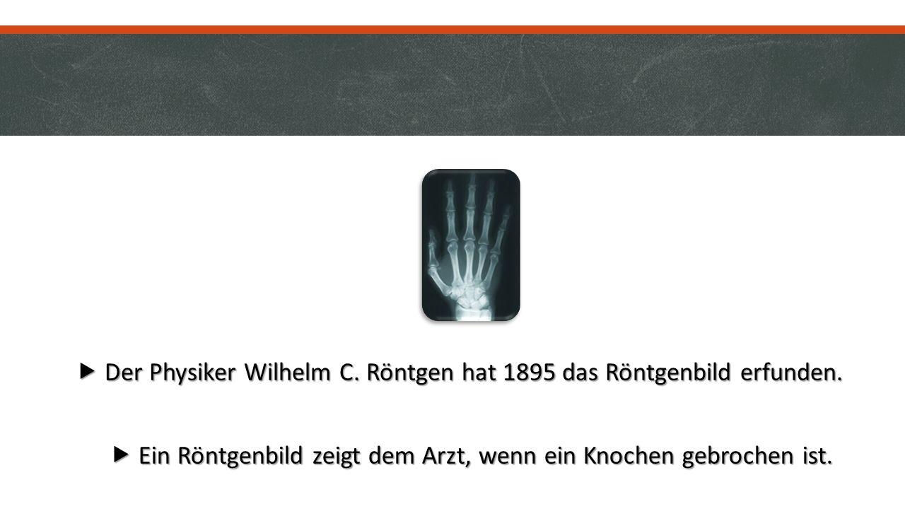  Der Apotheker Felix Hoffmann hat 1897 die Aspirintablette erfunden.