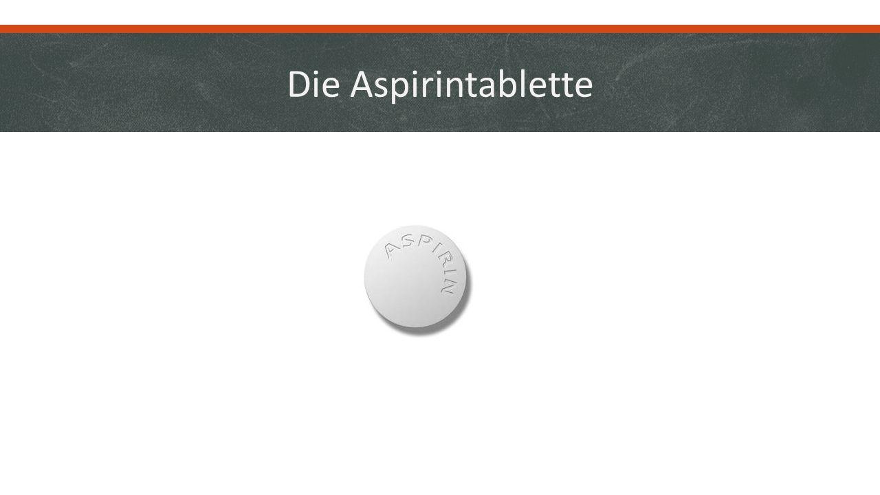 Die Aspirintablette