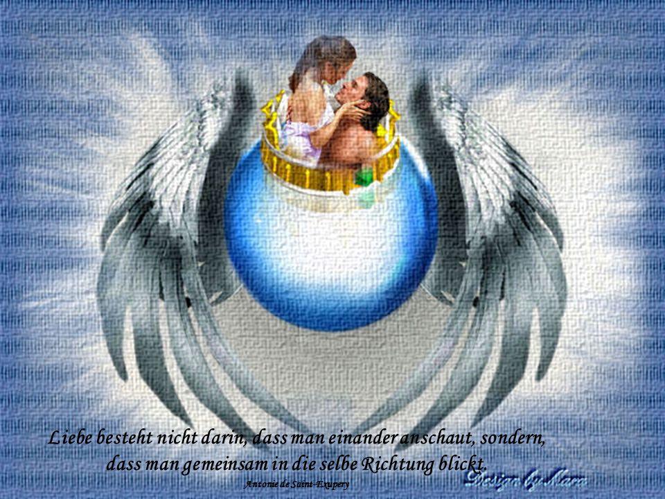 Liebe, die vom Herzen liebt, ist am reichsten, wenn sie gibt; Liebe, die vom Opfern spricht, ist schon rechte Liebe nicht.