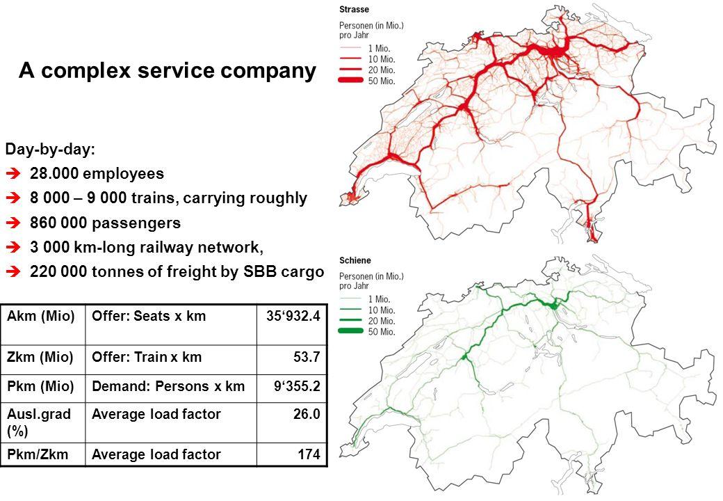 © SBB Passenger Traffic P-FV-SA 04.09.200710 SBB Infrastructure – Further development of the rail network.