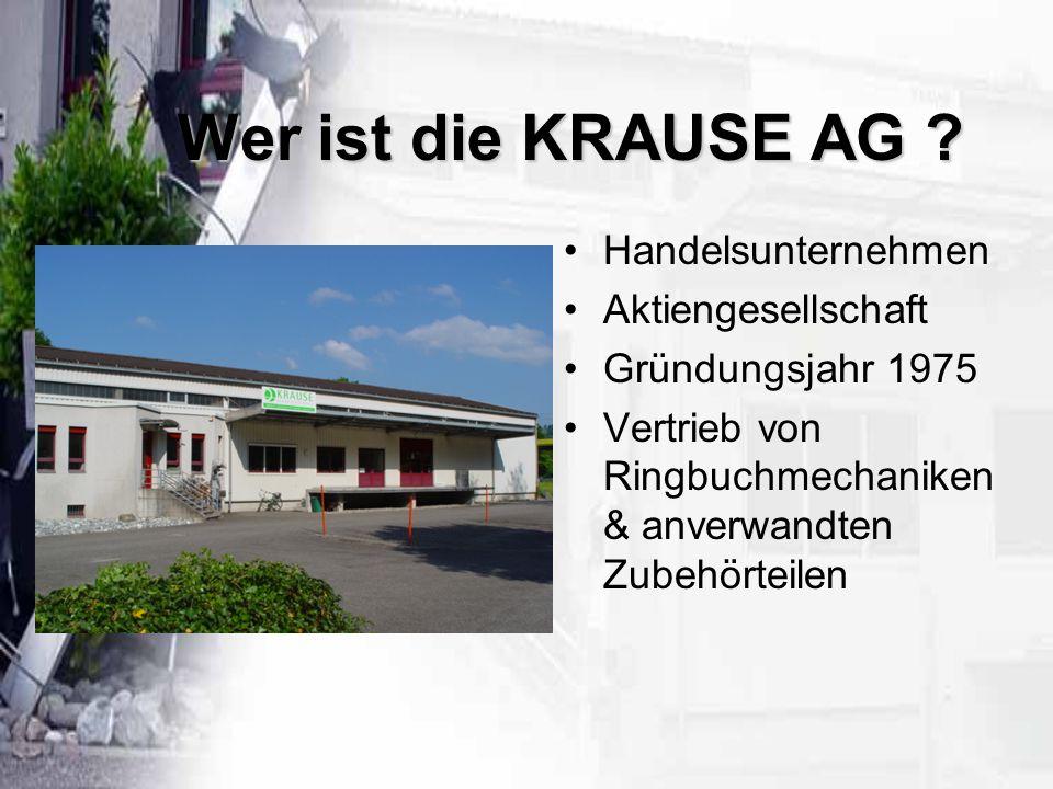 Wer ist die KRAUSE AG .
