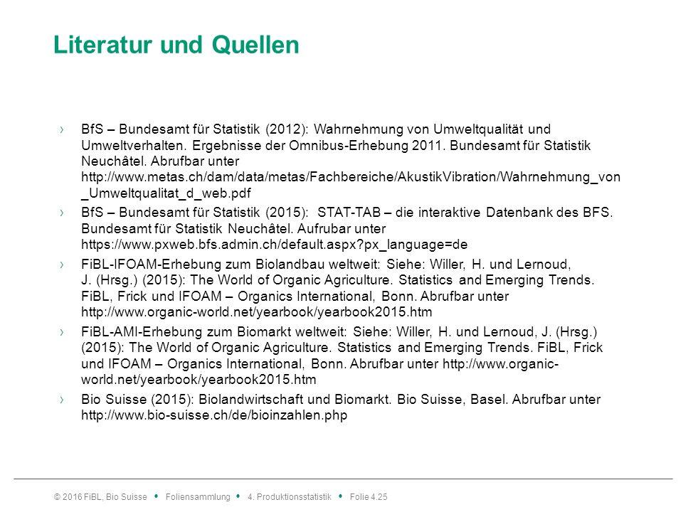 Literatur und Quellen ›BfS – Bundesamt für Statistik (2012): Wahrnehmung von Umweltqualität und Umweltverhalten.