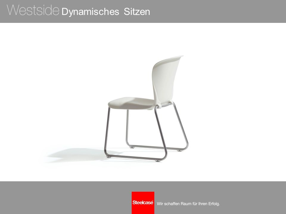 Komfort: Die Form macht den Unterschied Durchdachtes, klares Design:  Form, Winkel und Flexibilität der aus einem Stück gefertigten Schale ermöglichen maximalen Komfort für den Rücken.