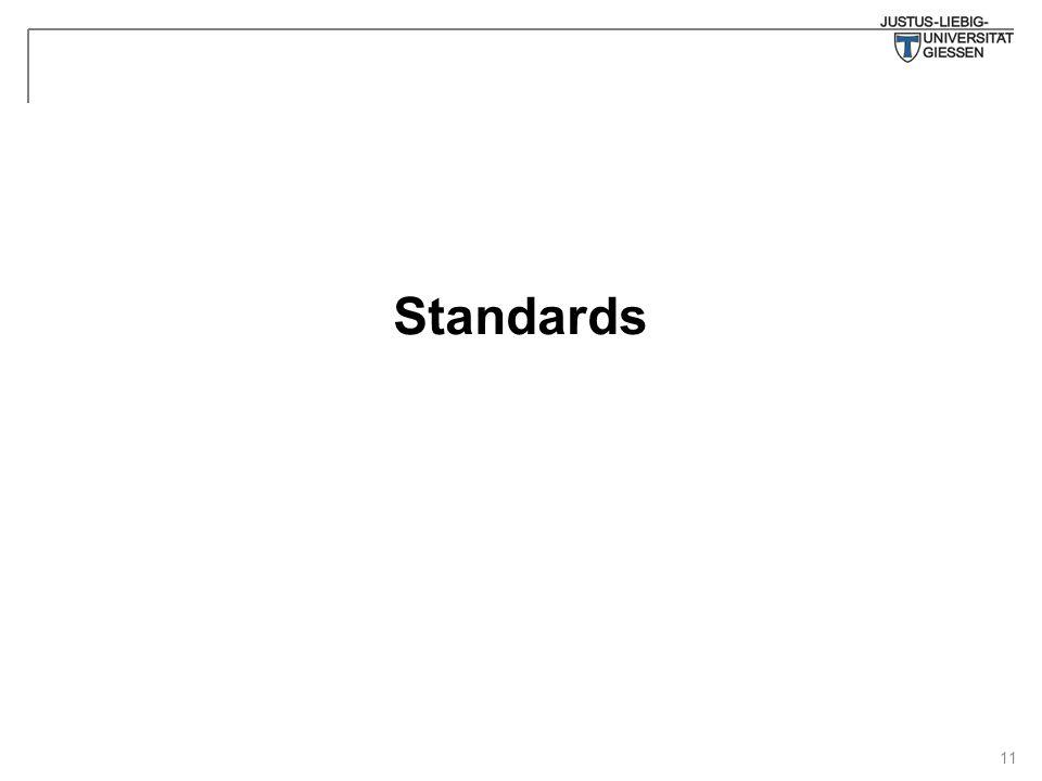 11 Standards
