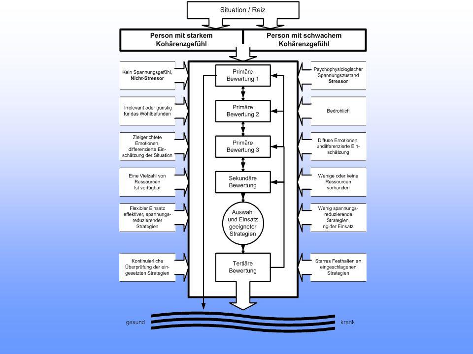 Gesund Krank Multidimensionales Kontinuum mit z.T.