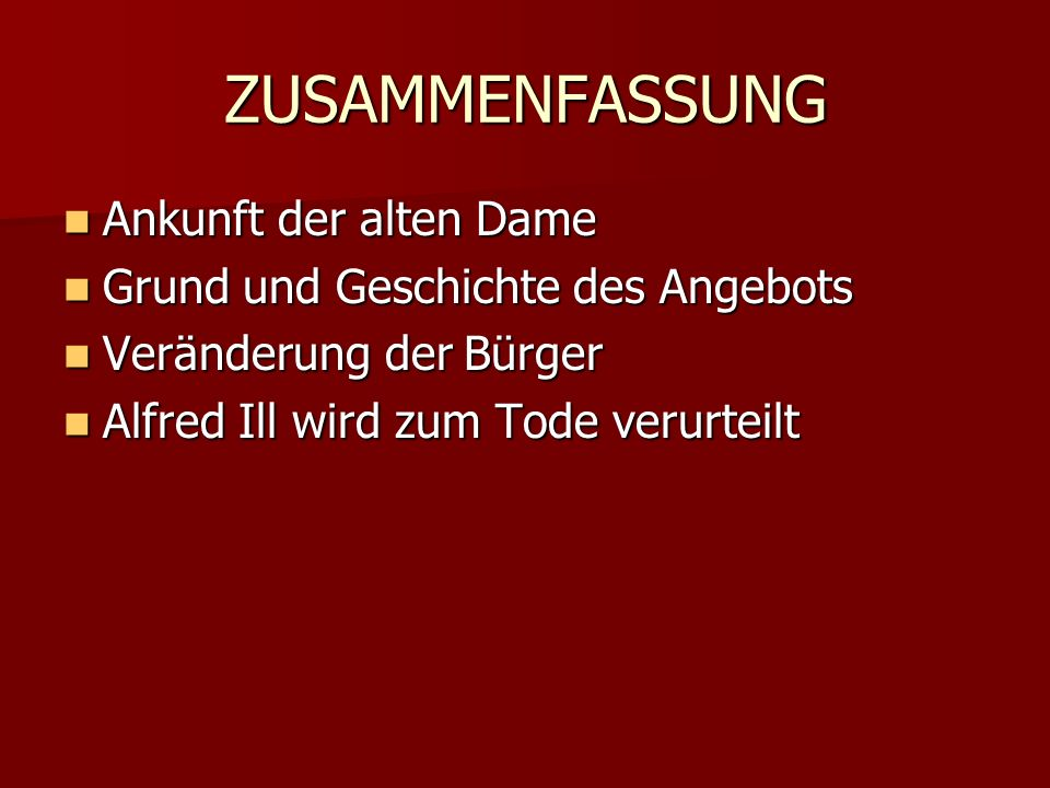 FRIEDRICH DÜRRENMATT 5.Januar 1921 - 14. Dezember 1990 5.