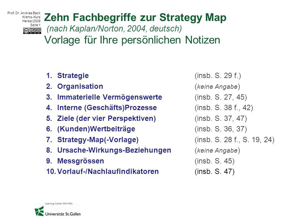 Prof.Dr. Andrea Back Krems-Kurs Herbst 2008 Seite 2 2.