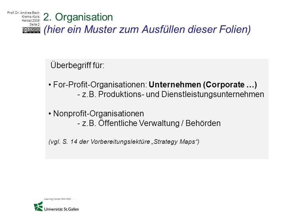 Prof.Dr. Andrea Back Krems-Kurs Herbst 2008 Seite 3 1.