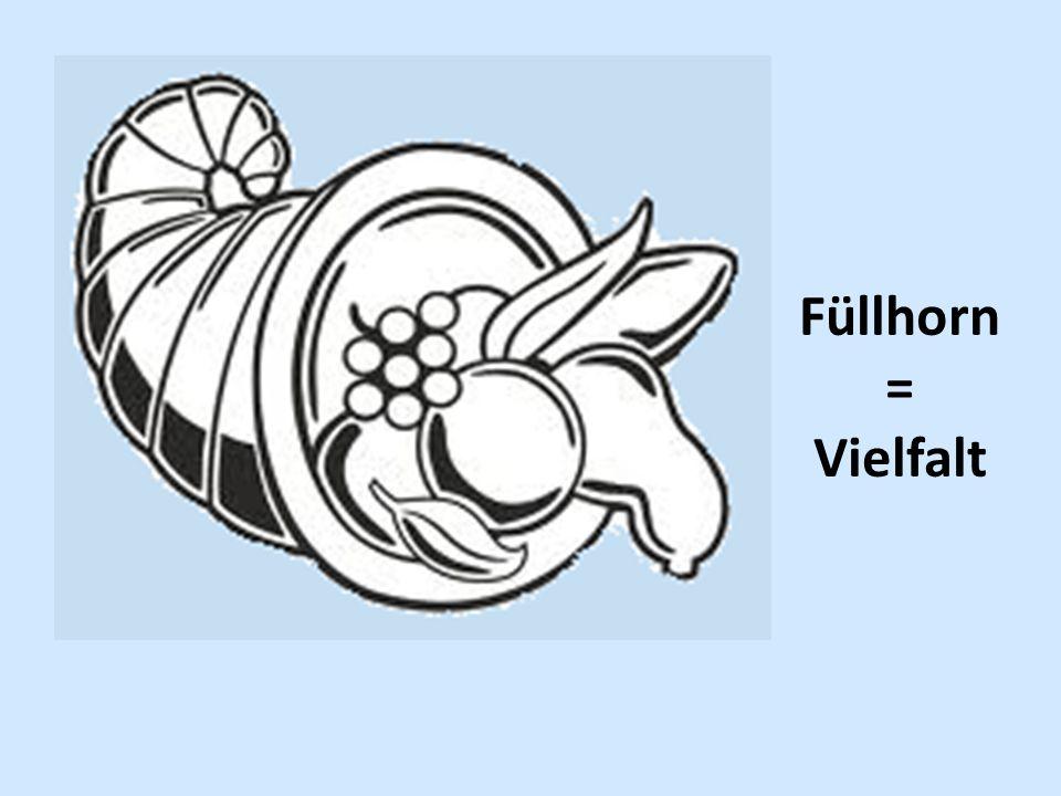 Füllhorn = Vielfalt