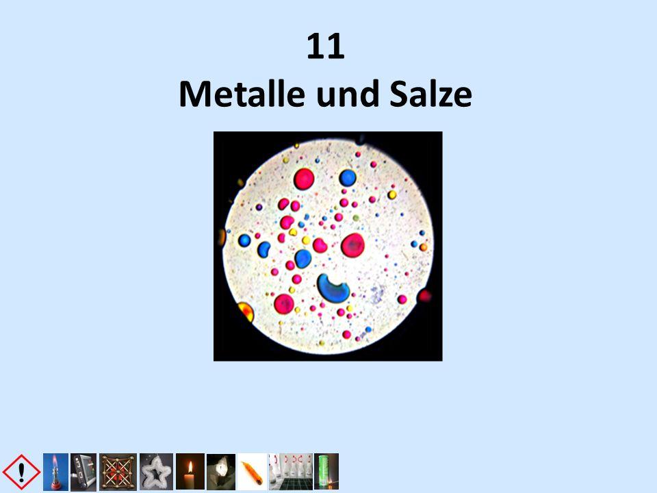 11 Metalle und Salze