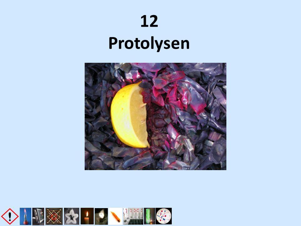 12 Protolysen