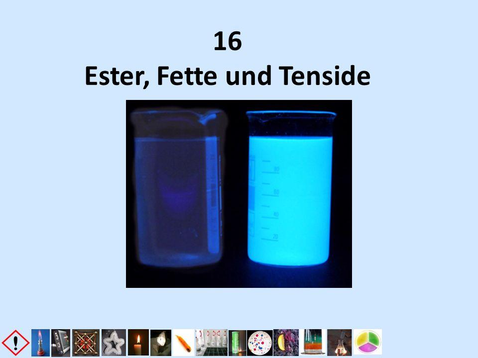 16 Ester, Fette und Tenside