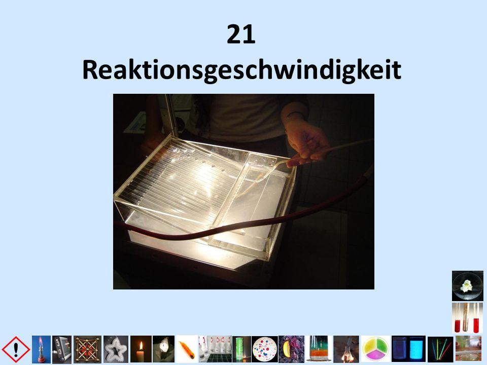 21 Reaktionsgeschwindigkeit
