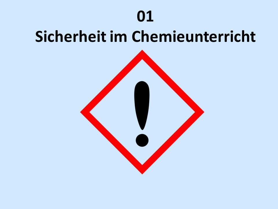 01 Sicherheit im Chemieunterricht