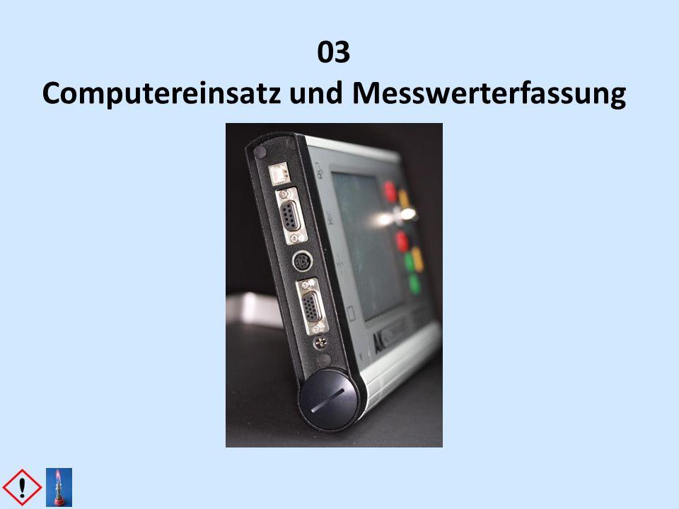 03 Computereinsatz und Messwerterfassung