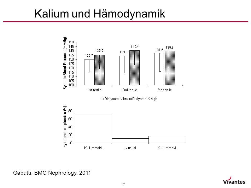 -19- Kalium und Hämodynamik Gabutti, BMC Nephrology, 2011