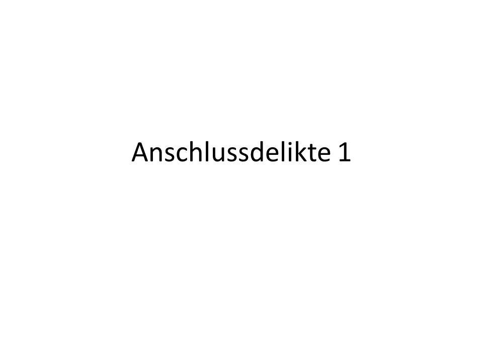 Aufbau 2 Abs.2 (VollstreckVereitlg) 1.