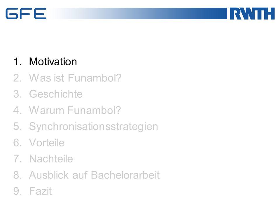 Motivation Herr Prof.Dr.