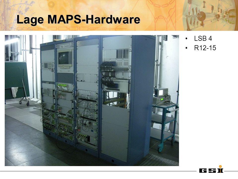 Lage MAPS-Hardware LSB 4 R12-15