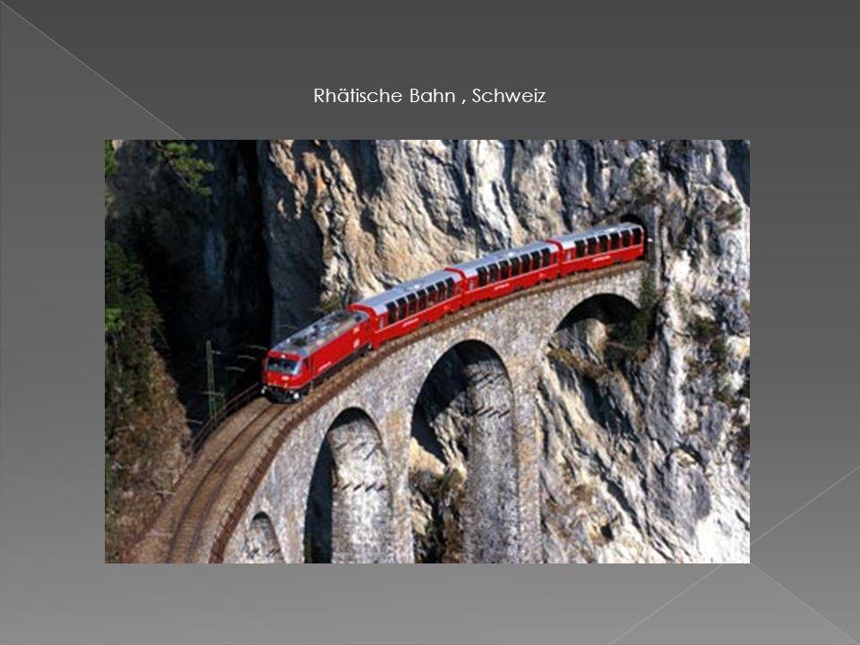 Rhätische Bahn, Schweiz