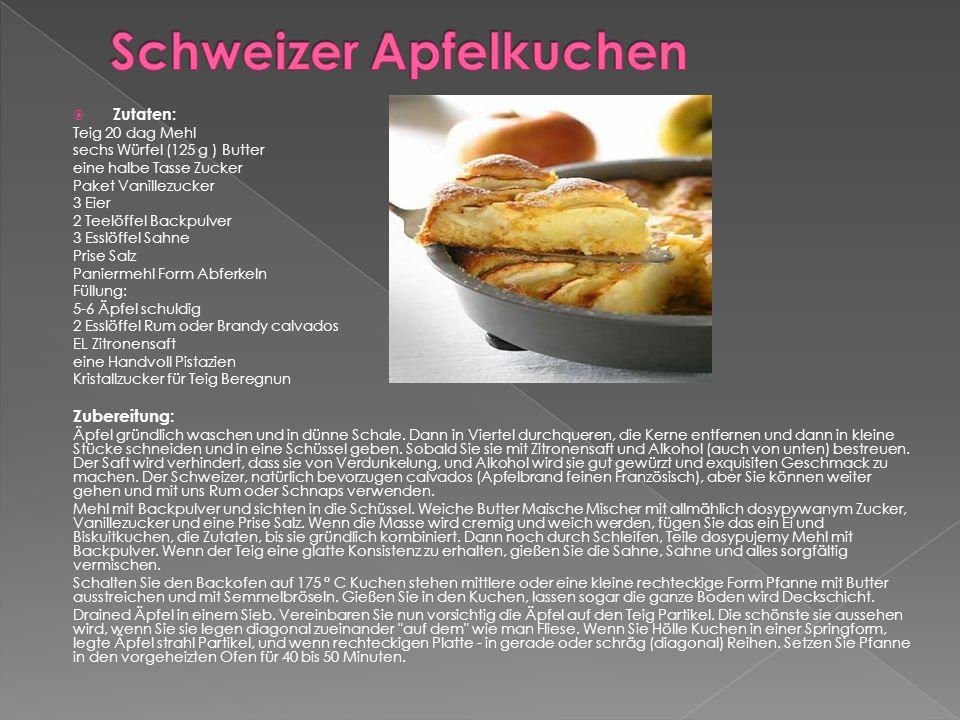  Zutaten: 200 g geriebener Gruyère -Käse, 200 g geriebener Emmentaler Käse, 200 g geriebener Käse Appenzeller, 200 g geriebener Käse, Vacherin fribourgois, 3,5 dl Weisswein ( trocken.