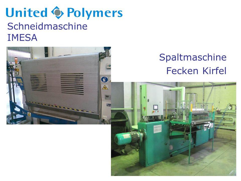 Schneidmaschine IMESA Spaltmaschine Fecken Kirfel