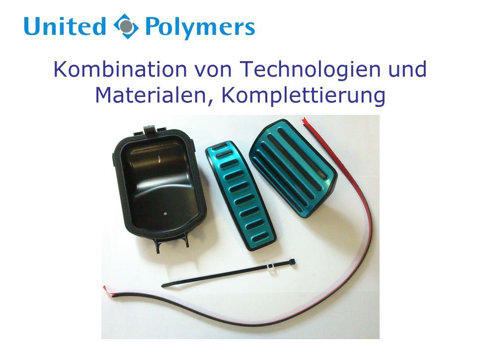 Kombination von Technologien und Materialen, Komplettierung
