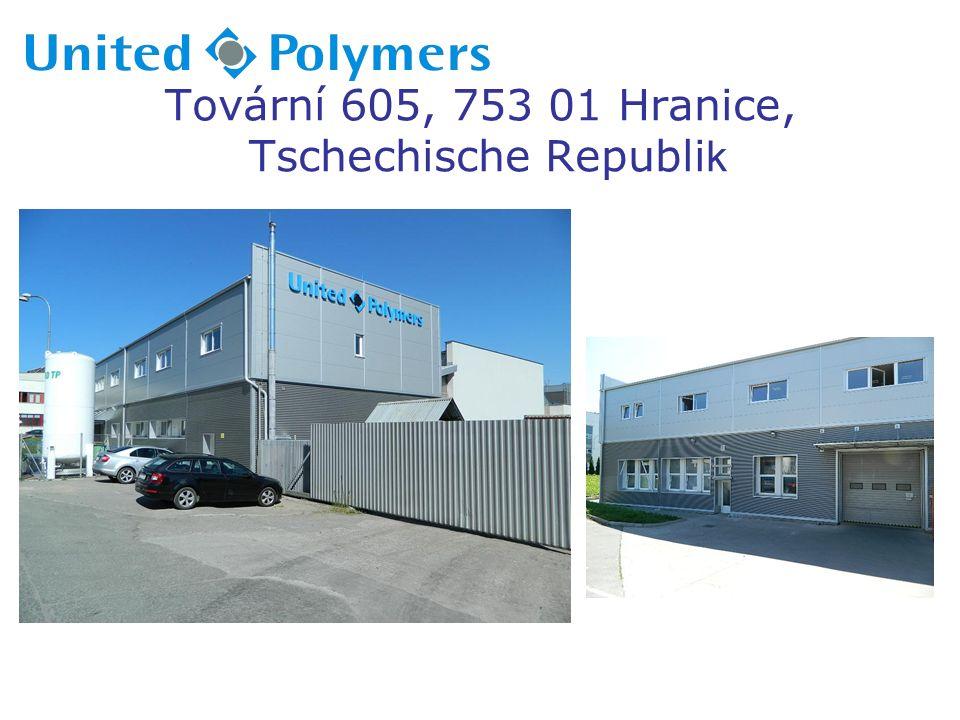 Tovární 605, 753 01 Hranice, Tschechische Republi k
