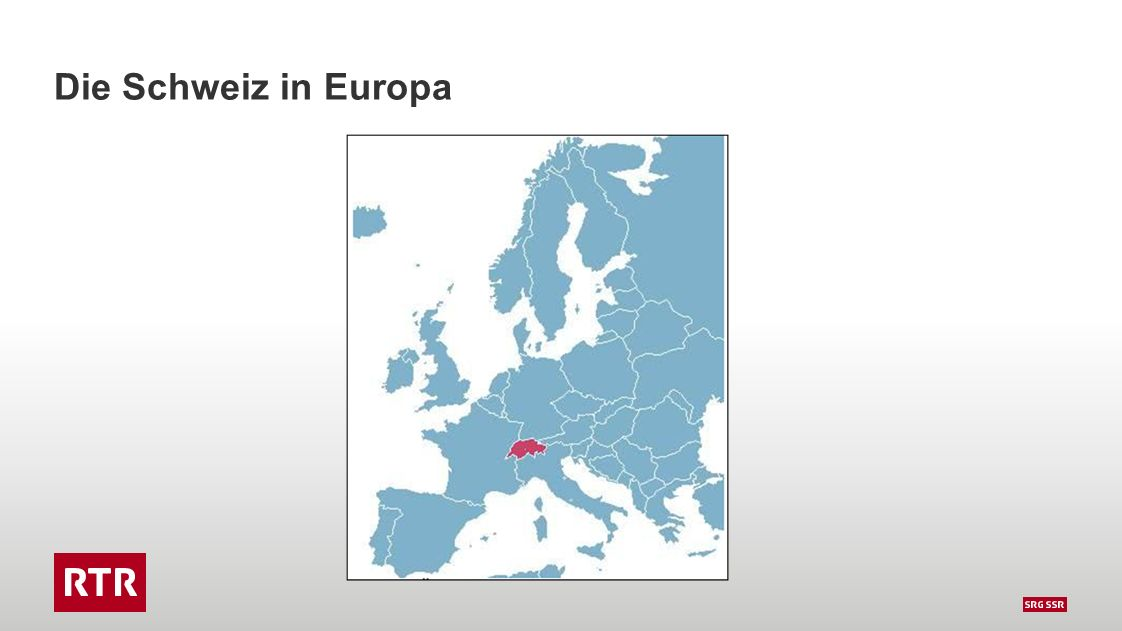 Bevölkerung: 7.7 Mio – 4 Sprachen – 3 Regionen
