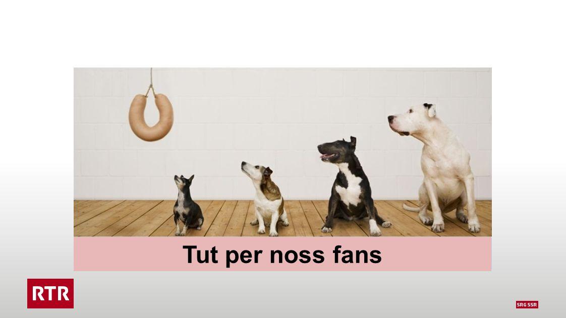 Tut per noss fans