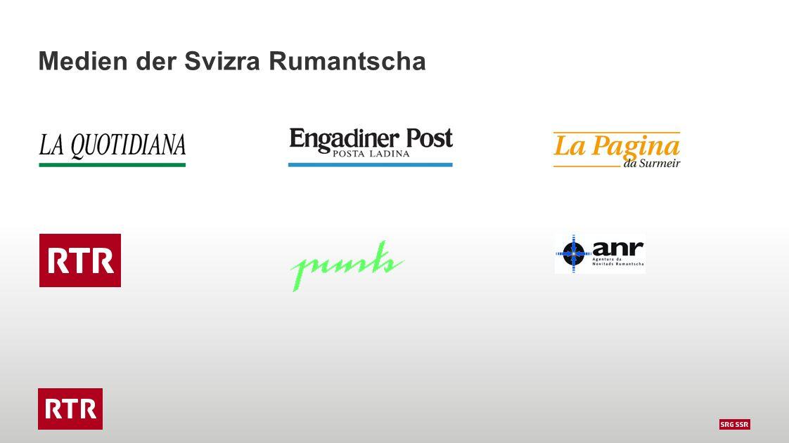 Ziele  Zukunft der romanischen Medien gewährleisten  Zusammenarbeit verbessern / Synergien  Individualität der einzelnen Medien bewahren  Inhalte für alle Zielgruppen bieten  Neue Publikationsformen thematisieren