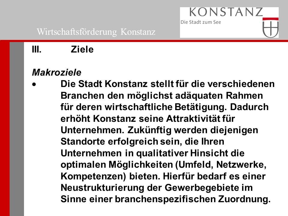 Wirtschaftsförderung Konstanz III.