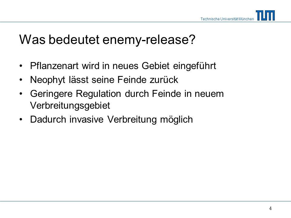 Technische Universität München 4 Was bedeutet enemy-release.