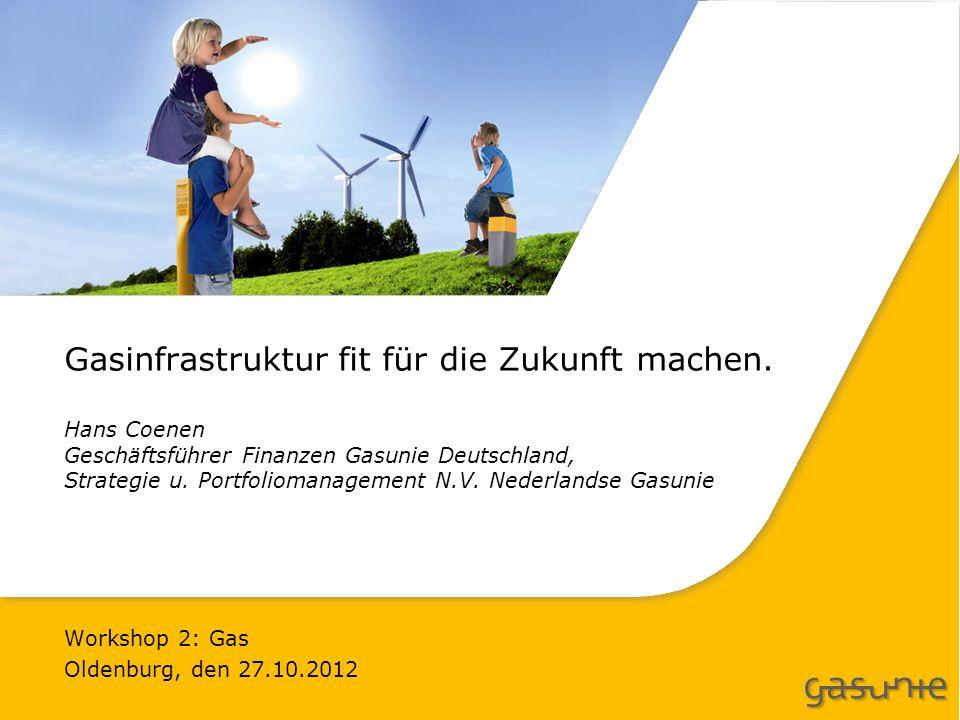 Gasinfrastruktur fit für die Zukunft machen.