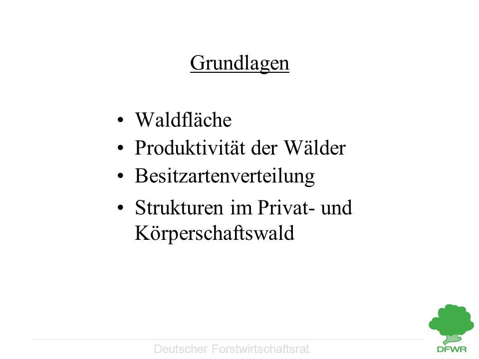 Deutscher Forstwirtschaftsrat Aufbau-/Ablauforganisation Verwaltungsebenen
