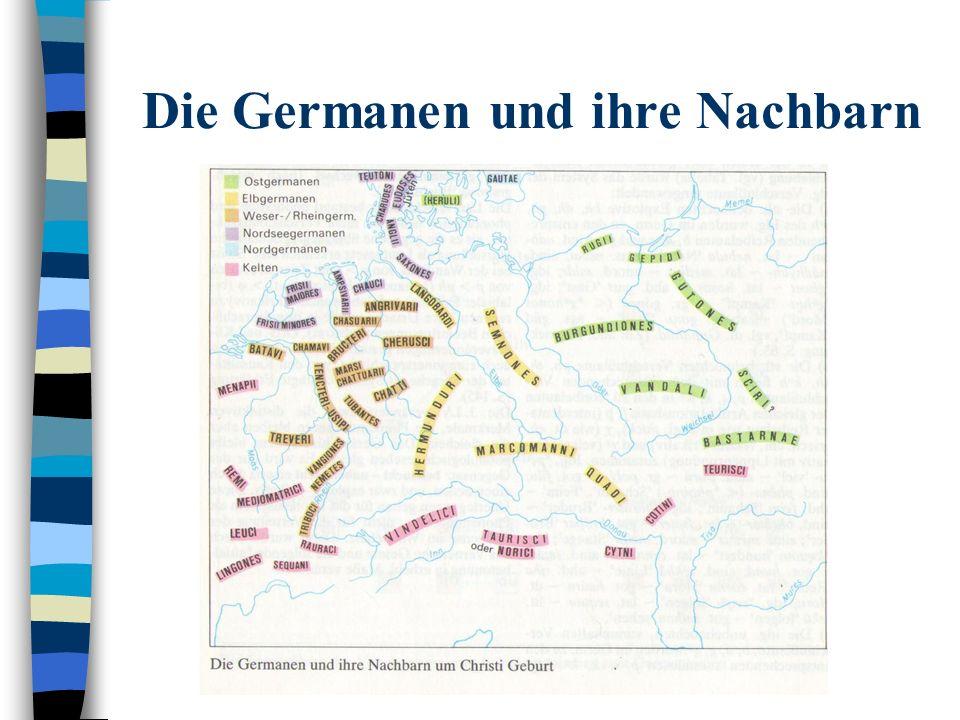Die Germanen und ihre Nachbarn