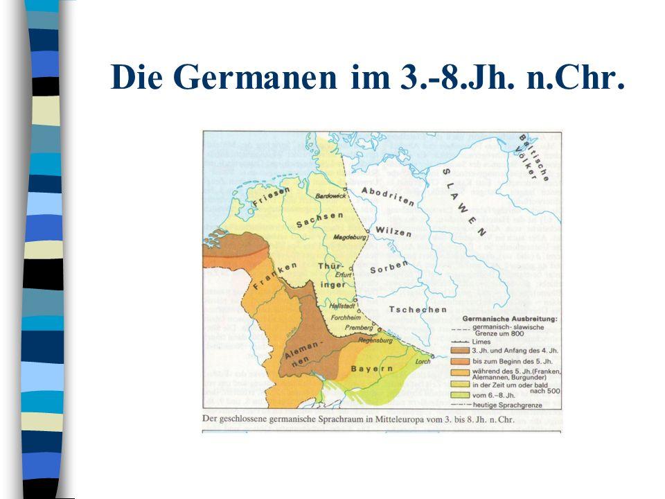 Die Germanen im 3.-8.Jh. n.Chr.