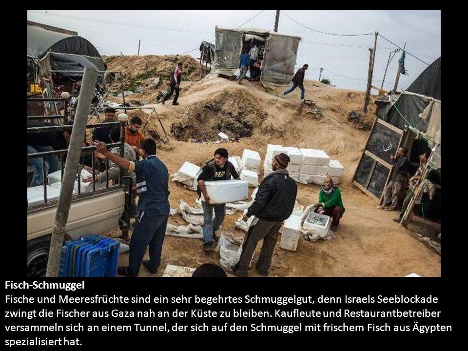 Scheinbar offen Nur am Meer ist der Horizont für die Menschen in Gaza scheinbar offen.
