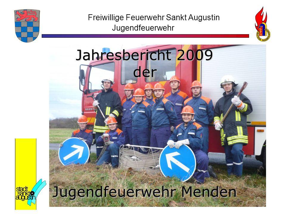 Freiwillige Feuerwehr Sankt Augustin Jugendfeuerwehr Jahresbericht 2009 der Jugendfeuerwehr Menden